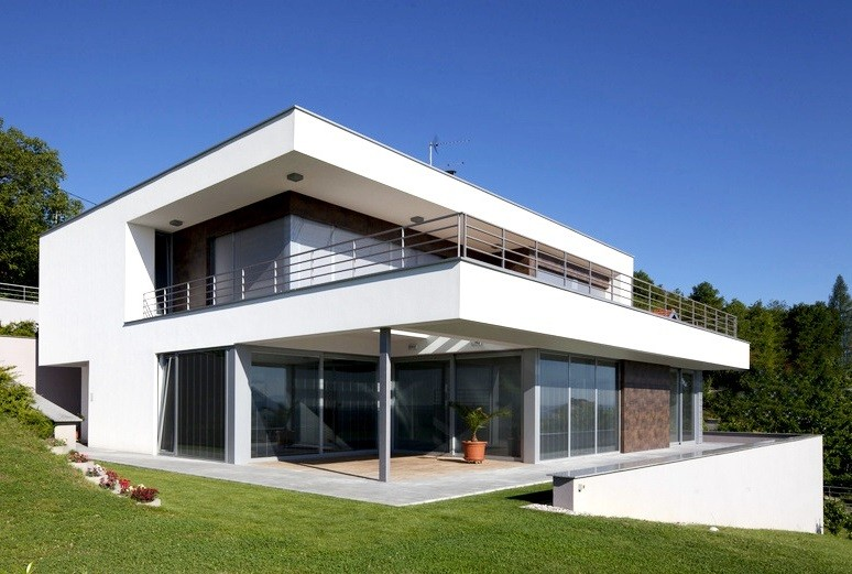 Progetti villette moderne rt37 regardsdefemmes for Progetti di case moderne